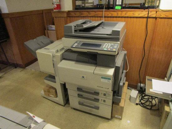 Konica Minolta bizhub c350 color copier/scanner