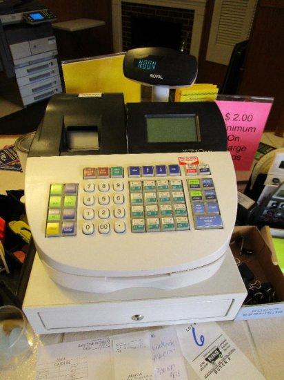 Royal 710ml Cash Registrar with key