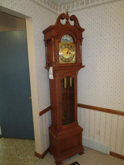 """Schrock of Walnut Creek"" Grandfather Clock"