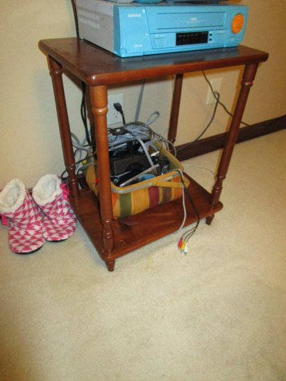 Wooden Side Stand