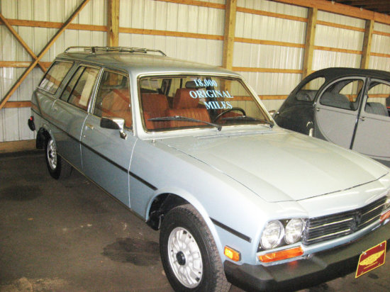 1980 Peugeot 504 Diesel Station Wagon