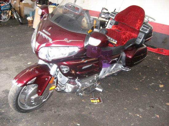 2008 Honda Gold Wing Motorcycle