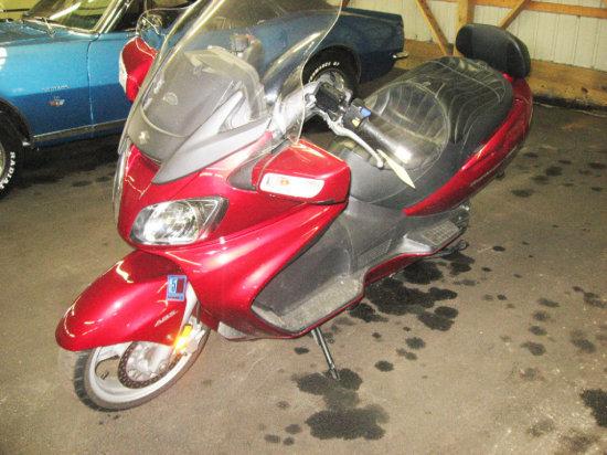 2007 Suzuki Burgman 650 Motor Scooter