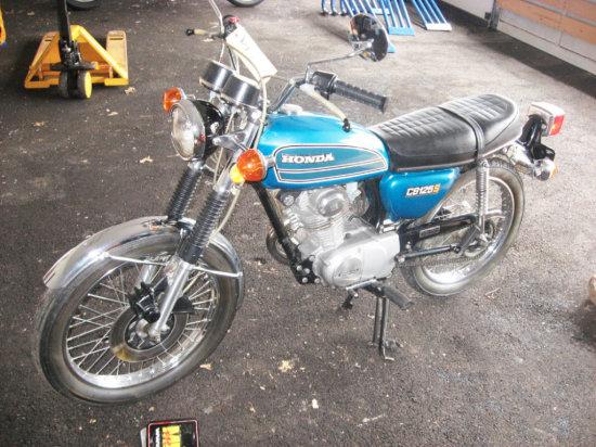 975 Honda CB125S Motorcycle