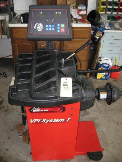 John Bean VPISystems I Tire Balancer
