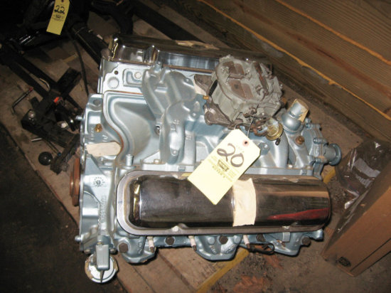 1970 Pontiac GTO Engine