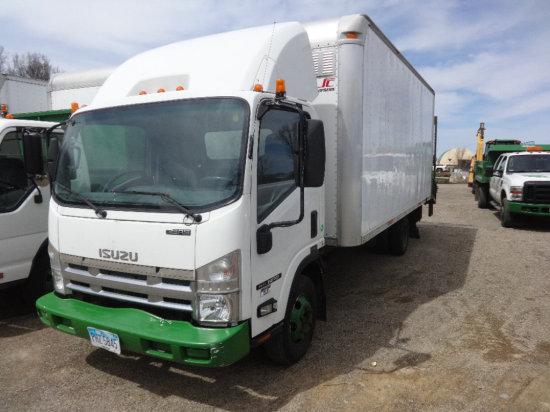 #106 2007 Isuzu NPR box truck