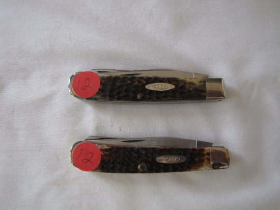 Case XX 6254 Trapper knives