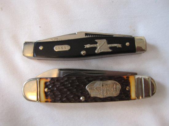 Boker 08807 Westward Ho knife, 1785 Monroe Doctrine knife