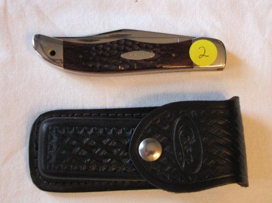 Case XX 6265 Folding Hunter knife w/sheath
