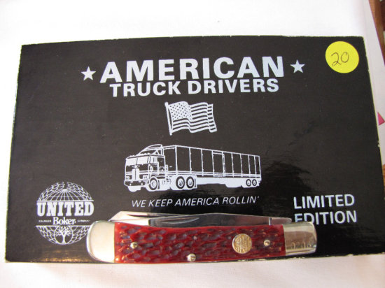 Boker American Truck Drivers knife 0206 w/box