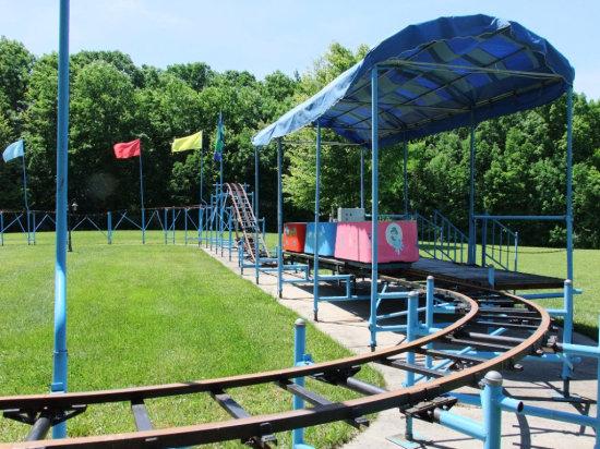 300 Foot Portable Roller Coaster