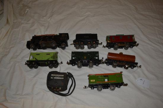 Lionel Train- 7 pc. set with Transformer