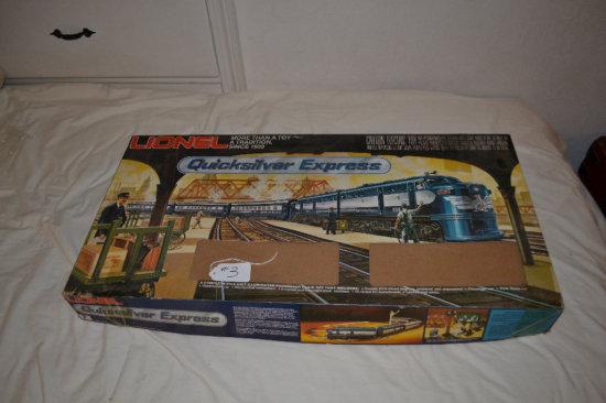 Lionel Train- Quick Silver Express