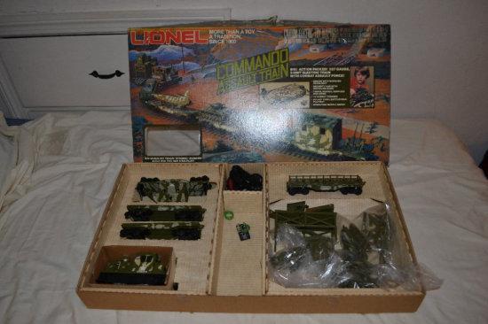 Lionel Train - Commando Assault Train