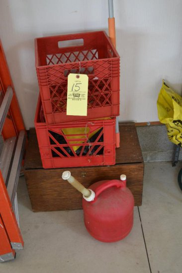 Crates - Gas Can - Wood Box
