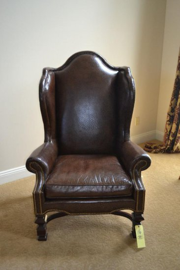 Leather Highback Chair
