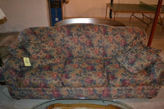 3 Cushion Sofa & Matching Chair