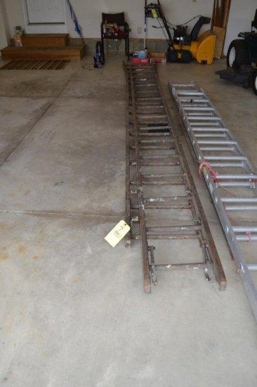 Wood Ext. Ladder