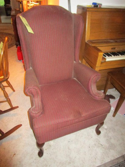 Clayton House wing back chair