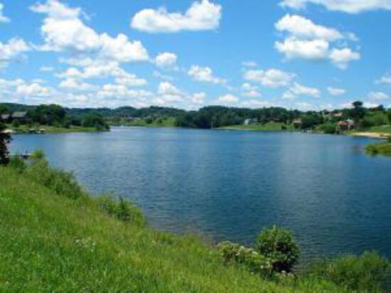 Lake Views! Gorgeous Wisconsin Property Steps Away from Dutch Hollow Lake!