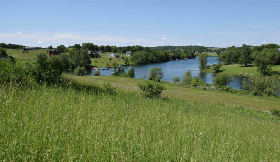 Gorgeous Wisconsin Property Steps Away from Dutch Hollow Lake!