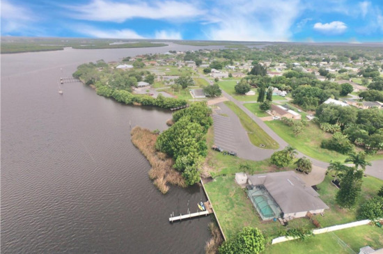 Beautiful Views of Whidden Bay and Peace River In Charlotte County, Florida!