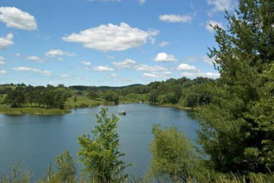 Gorgeous Oversized Wisconsin Cul De Sac Lot, Steps from an Amazing Lake!