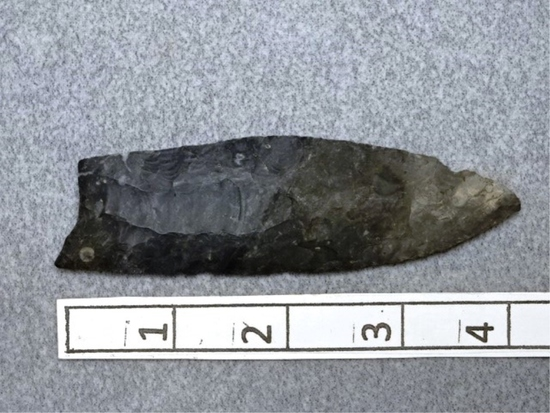 Fluted Point - 4 1/2 in. - Coshocton Flint