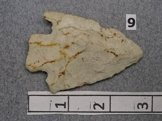 Hopewell Poinr - 3 in. - White Chert