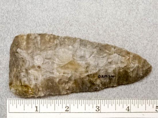 Archaic Knife - 4 1/2 in. - Coshocton Flint