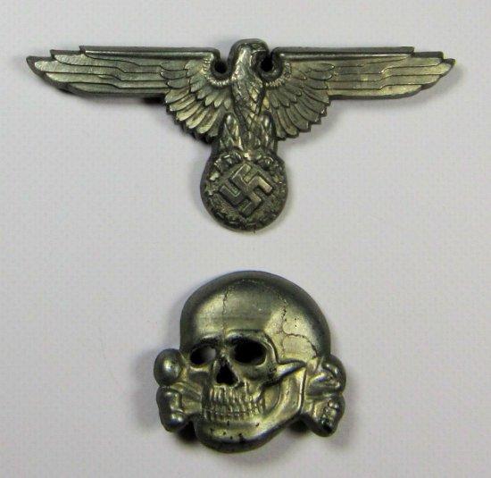 SS Visor Cap Eagle and Skull R    Auctions Online | Proxibid