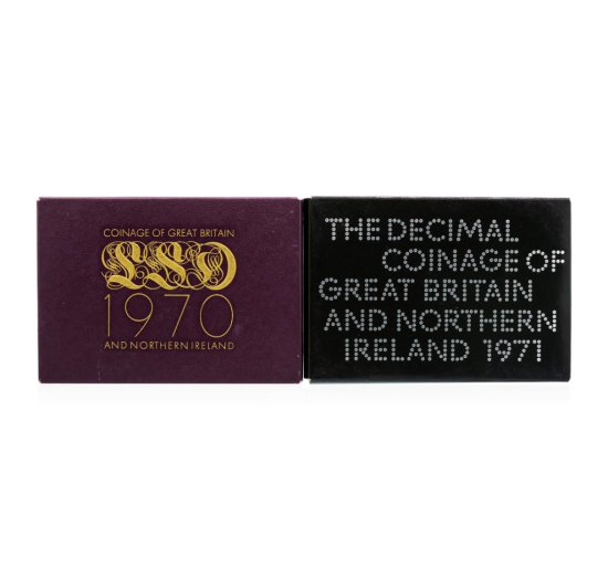 1970-1971 Coinage of Great Britain and Northern Ireland Proof Set