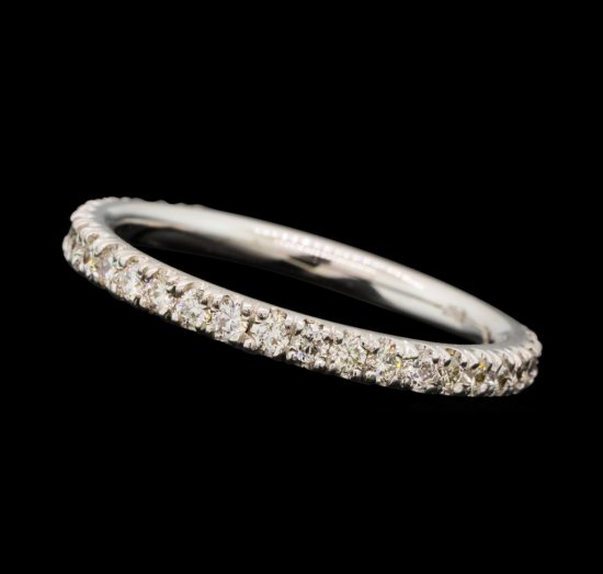 0.38 ctw Diamond Band - 18KT White Gold