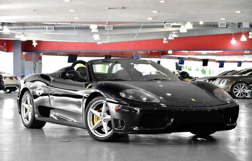 2005 Black Ferrari 360 Modena Spider F1 Convertible Vehicles Marine Aviation Cars Trucks Online Auctions Proxibid
