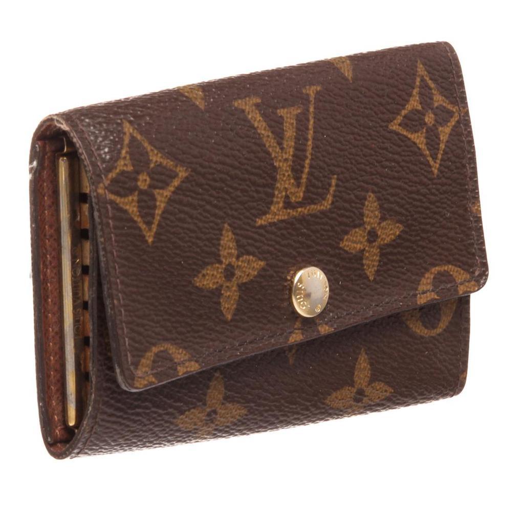 Louis Vuitton Monogram Canvas Leather 6 Key Holder