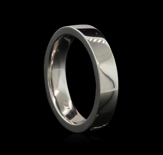 Platinum Mens Wedding Band - Platinum