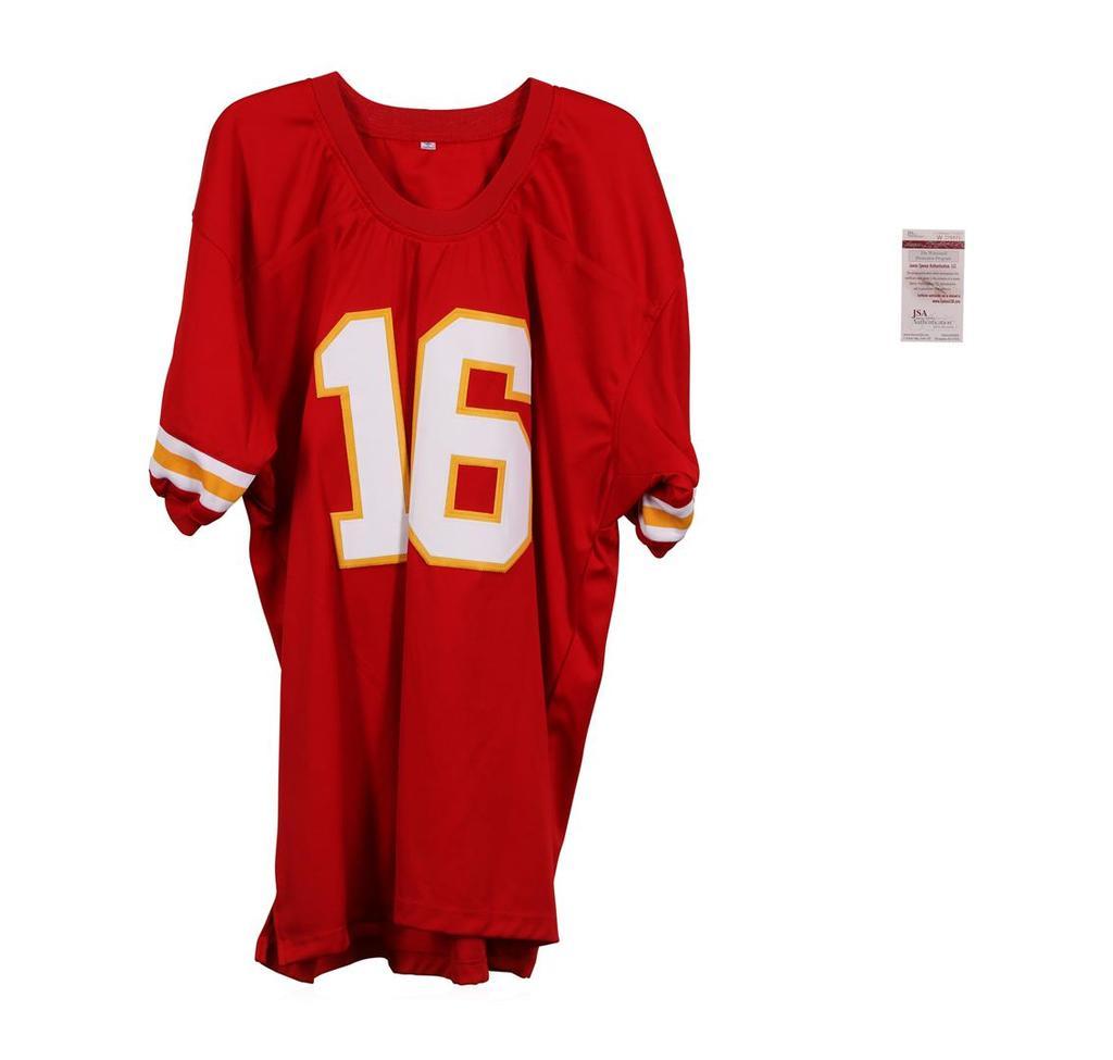 Kansas City Chiefs Len Dawson Autographed Jersey