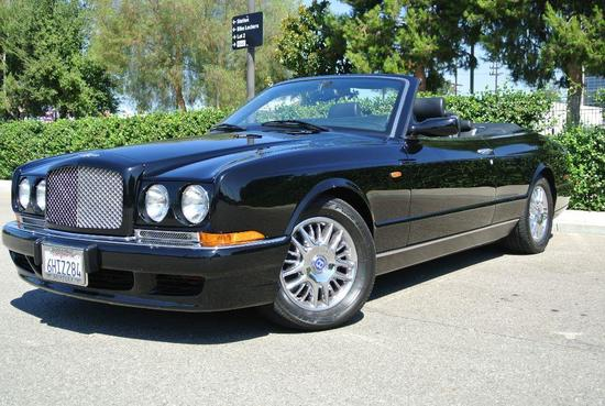 2001 Black Bentley Azure