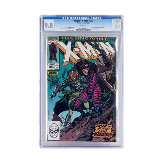 The Uncanny X-Men Issue #266 by Marvel Comics CGC