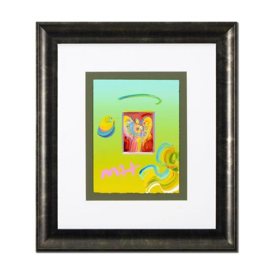 Angel with Heart by Peter Max