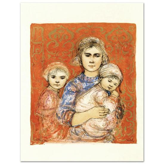 Jenet, Mary and Wee Jenet by Hibel (1917-2014)