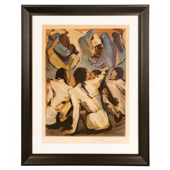 Los Indios by David Alfaro Siqueiros