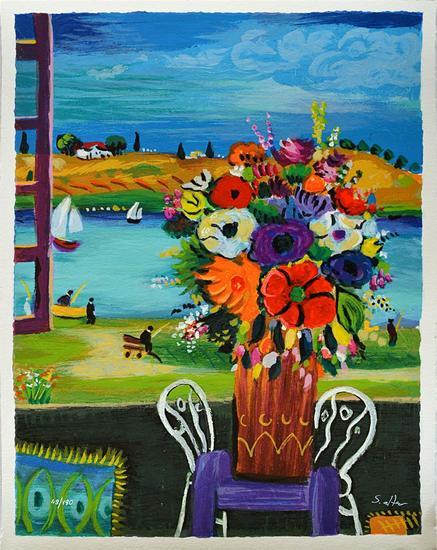 Shlomo Alter Flowers Of Serenity