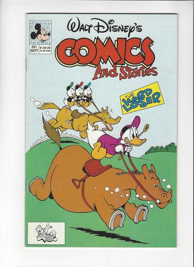 Walt Disneys Comics and Stories Issue #551 by Disney Comics