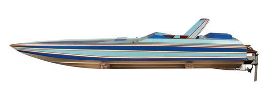 56.5 Inch Off Shore Model Power Boat