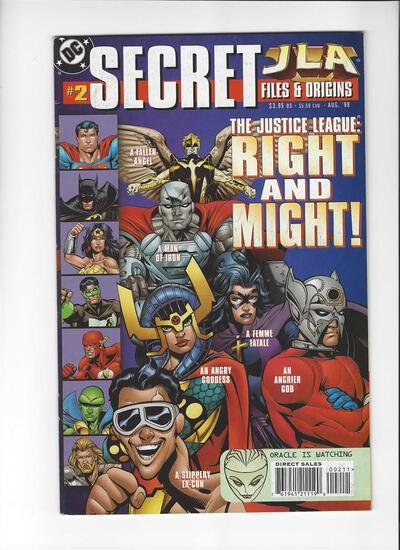 JLA Secret Files Issue #2 by DC Comics