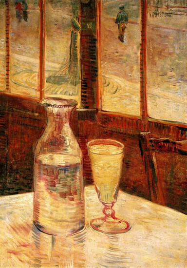 Van Gogh - The Still Life With Absinthe