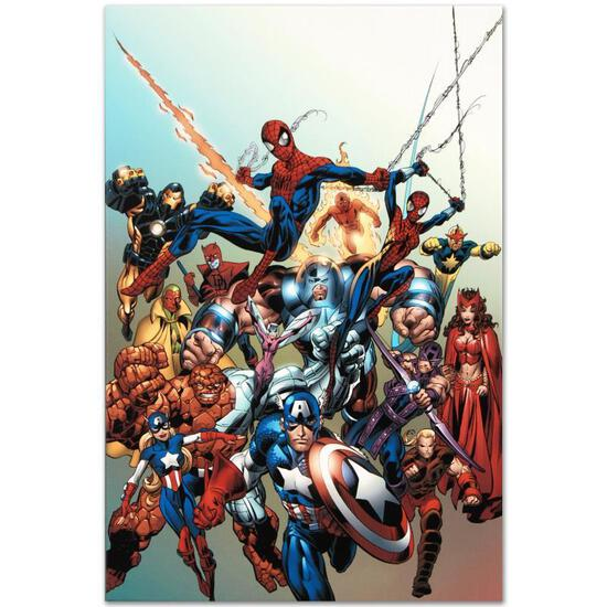 "Marvel Comics ""Last Hero Standing #1"" Numbered Limited Edition Giclee on Canvas"