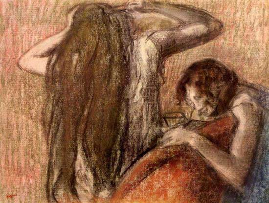 Edgar Degas - Two Girls